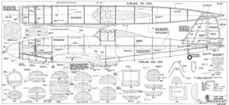 Fiat G55 Centauro Interceptor model airplane plan