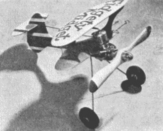 Fidgety Midget model airplane plan