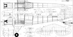 Fieseler Storch model airplane plan