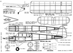 Fieseler Storch 24in 1948 model airplane plan
