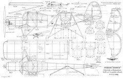 Fieseler Storch MRA model airplane plan