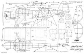 Fieseler Storch MRA model airplane plan