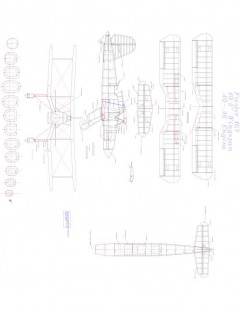 Fiesler 167 Model 1 model airplane plan
