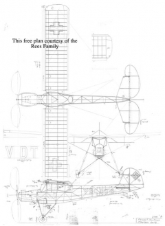 Fiesler Storch model airplane plan