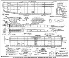 Fifteen model airplane plan