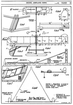 Fine Flyer p1 model airplane plan