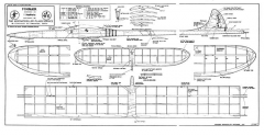 Finnair 1 model airplane plan
