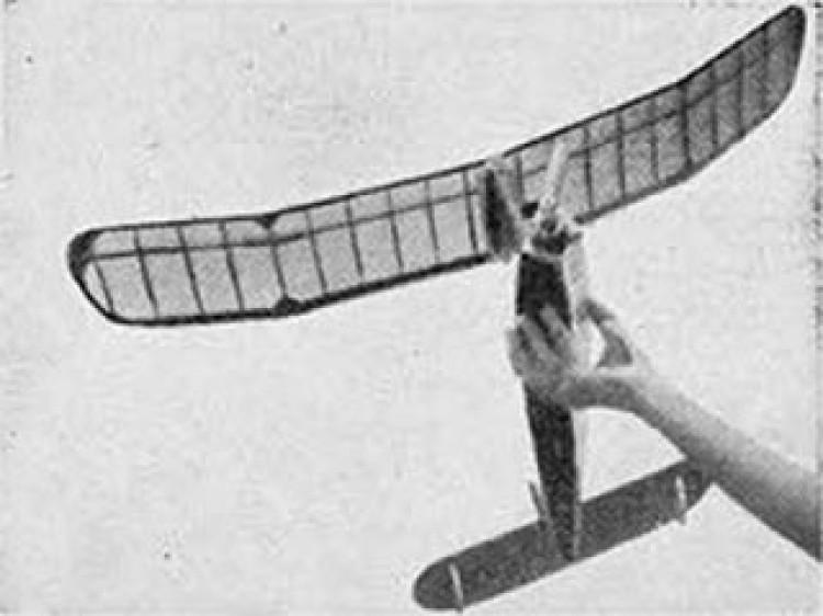 Firecracker model airplane plan