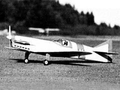 Firecracker model airplane plan