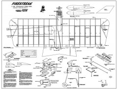 Firestreak model airplane plan
