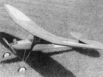 Flamingo model airplane plan