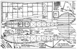 Flanders F3 model airplane plan