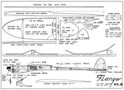 Flanger Mk III model airplane plan