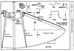 Flapper p1 model airplane plan