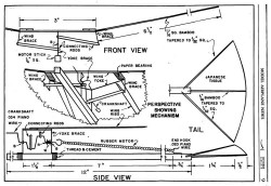 Flapper p2 model airplane plan