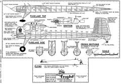 FleaFright model airplane plan