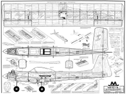 Flea Fli plus 10 model airplane plan
