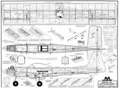 Flea Fli plus 10 model airplane plan