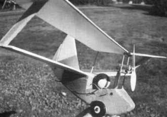 Flea Fling model airplane plan