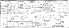 Fleet Bipe 1930 model airplane plan
