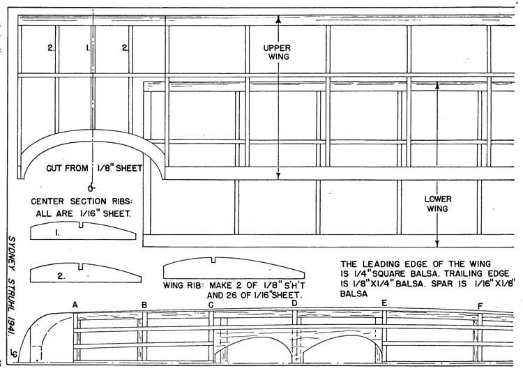 Fleet p3 model airplane plan