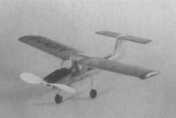 Fletcher FL-23 model airplane plan