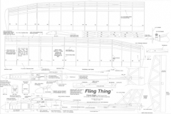 Fling Thing model airplane plan