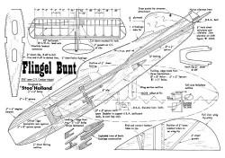 Flingel Bunt model airplane plan