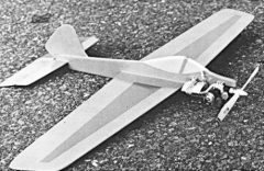 Flip model airplane plan