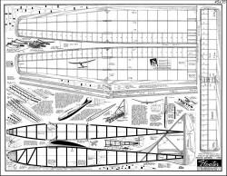Floater model airplane plan