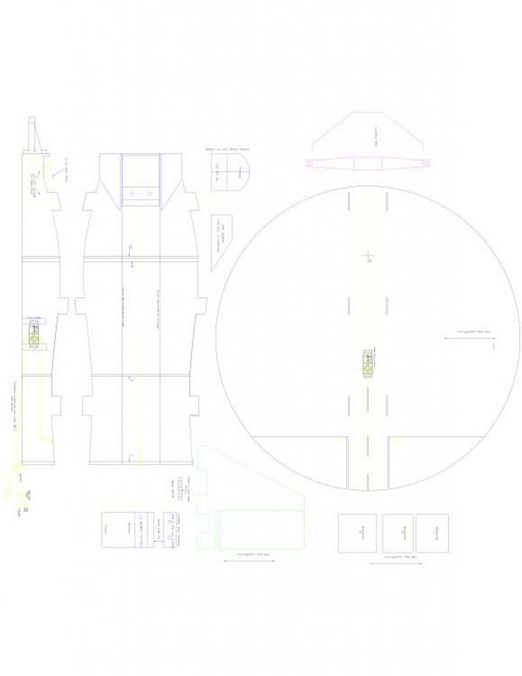 Floppy Disk 2 Model 1 model airplane plan