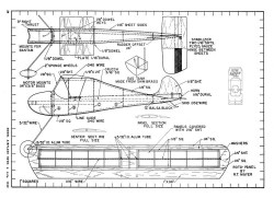 Flutter Wing-MAN-07-49 model airplane plan