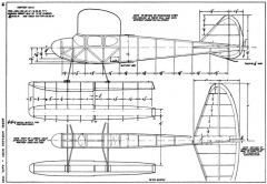 Fly Baby 2 model airplane plan