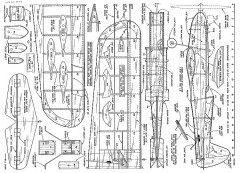 Flyette model airplane plan