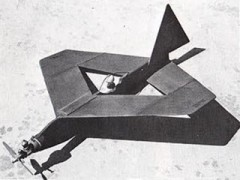 Flying Diamond model airplane plan