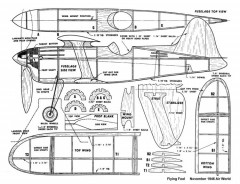 Flying Fool model airplane plan