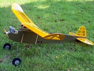 Flying Midget model airplane plan