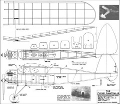 Flying Phantom  Junior model airplane plan