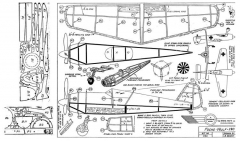 Focke-Wulf-190 model airplane plan