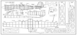 Focke-Wulf TA-152 by Hal Cover model airplane plan