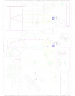 Foglio01 Model 1 model airplane plan