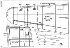 Fokker G-1 p4 model airplane plan