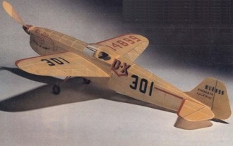 Folkerts SK-3 model airplane plan