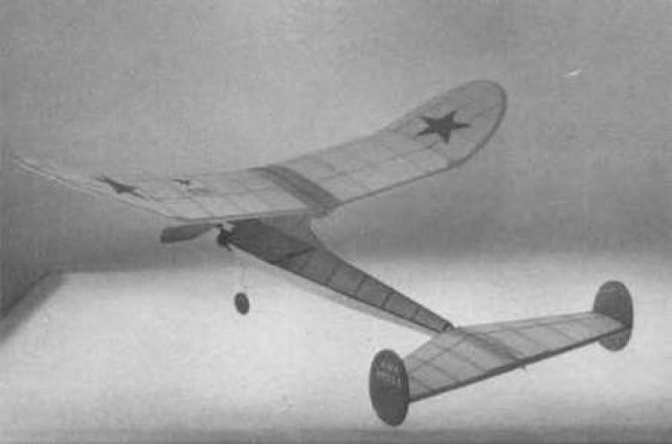 Foo 2U2 model airplane plan