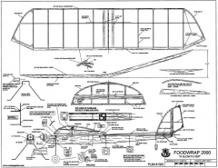 Foodwrap 2000 model airplane plan