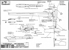 Formula 21 Speed model airplane plan