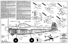 Forney Aircoupe model airplane plan