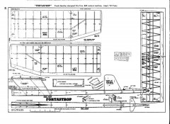Fortastrop 37in model airplane plan