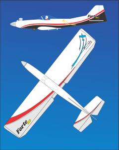 Forte 46RG model airplane plan