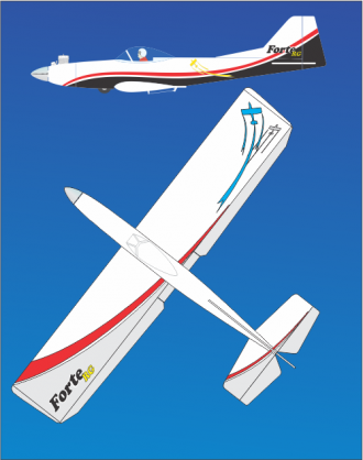Forte 46RG model airplane plan